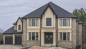SPECTACULAR BACKING ONTO FOREST!