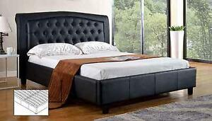 King Size Platform Bedframe (IF-192B) Also Available in Double and Queen