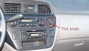 Honda Odyssey Heater Controls