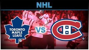 Montreal Canadiens contre Toronto Maple Leafs 26 sep 19:30