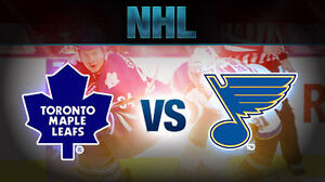 Maple Leafs vs St. Louis Blues....February 9th!....2 Nice Seats!