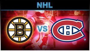 Boston Bruins vs Habs - Saturday Nov. 24th