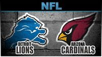 Detroit Lions vs Cardinals