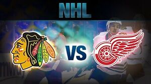 Wings vs Blackhawks Tickets