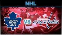 Maple Leafs vs Washington Capitals!....Saturday Nov 28th at ACC!