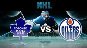Oilers vs Maple Leafs - Nov 29