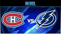 2 tickets Habs vs Tampa (less than face value)