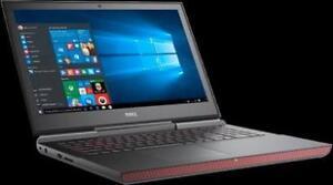 INSPIRON 7567: I7-7700HQ - 16GB RAM - 512SSD - NVIDIA GTX 1050TI 4GB - 15,6'' UHD 4K - WIN 10 - WARRANTY 1 YEAR - REFURB