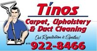 Tino's Carpet & Duct Cleaning
