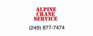 Mobile Crane/Boom Truck Service