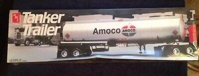 AMT 6698 AMACO TANKER TRAILER 1/25 SCALE MODEL KIT FS