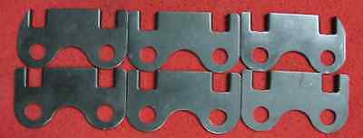 3 8 Push Rod Guide Plates 230 250 292 Chevy Inline 6