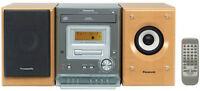 Panasonic SC-PM07 Sound system /stereo/cd /cassette/radio