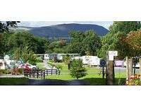 Brand new caravan for sale in Mid-Wales. A victory Echo ,