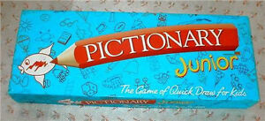 Pictionary 1st/2nd Ed,Pictionary Junior, Updated for90's Edition London Ontario image 4