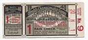 1940 World Series Ticket