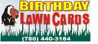Birthday Lawn Card Rentals
