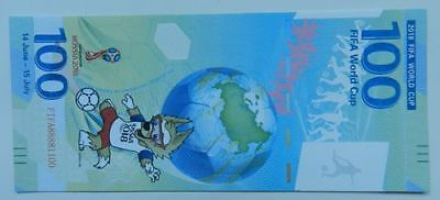 The 2018 Russian World Cup commemorative banknote costs 100 yuan