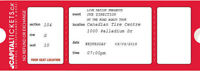 Pair of One Direction Tickets - Ottawa, September 9, 2015