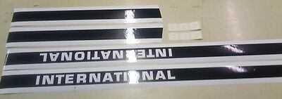 International 886 Hood And Cab Decals