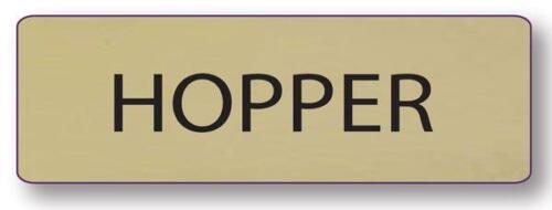 JIM HOPPER STRANGER THINGS NAME BADGE &  CHIEF BUTTON HALLOWEEN COSTUME PIN BACK