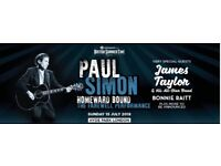 2 x tickets: British Summer Time (Hyde Park London) with Paul Simon - Sunday 15 July 2018