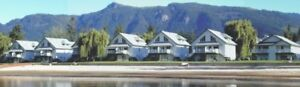 On Mara Lake in the town of Sicamous, BC  weekly rental