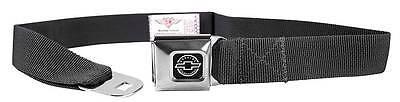 Seatbelt Men Canvas Web Military Webbing Chevy Chevrolet Charcoal Logo Camaro