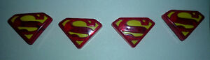 4 Superman Rings ... As shown