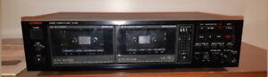 Luxman Stereo Cassette deck K-110W with manual