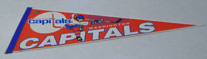 Vintage Washington Capitals - NHL Pennant