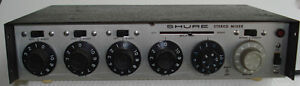 SHURE M-688 STEREO MICROPHONE MIXER
