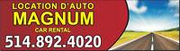 Location d'Autos Magnum Inc