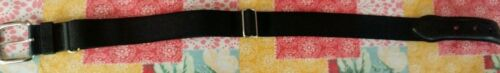 boys black baseball belt