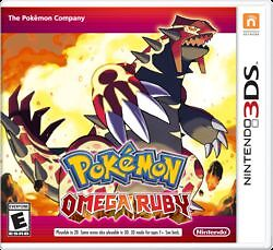 Omega Ruby for 3DS trade for X or Y