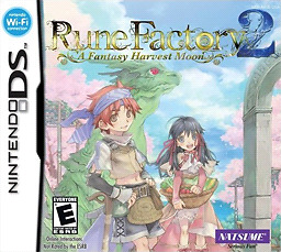 Looking for Rune Factory 2 artwork and manual
