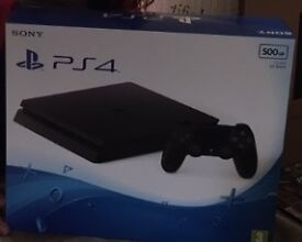 Brand new Sony PS4 with game download