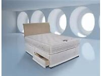 ***100 %CHEAPEST PRICE EVER****DOUBLE ROYAL FULL ORTHOPAEDIC DIVAN BED **BRAND NEW****