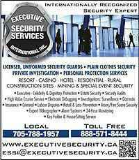 Armed Security Guards Protecting Canadian Business Overseas