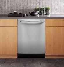 Lave-vaisselle GE commandes entièrement intégré, Stainless