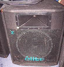 Yorkville elite EX401 passive speakers (pair)