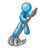 Heavy duty cleaning position 12.15 an hour to start