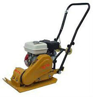 Plate tamper for rent or hire in Humboldt SK