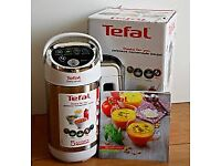 Brand New Tefal Easy Soup Maker - Stainless Steel & White