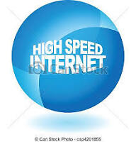 High Speed unlimited internet $50/Month with wifi modem
