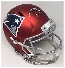 Tom Brady Signed BLAZE Helmet WANTED