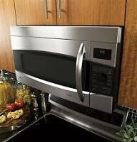 OTR Microwave and Hoodfan Installation...save up to 40%!!!!!!