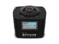 Kitvision immerse 360 Action camera 1080p 220degrees Field View (RRP £199.99)