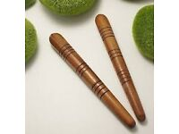 Ancient Healing Massage - Head to Toe with therapeutic stick - For rejuvenation and healthy glow