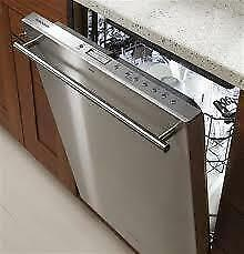 GE Monogram 24 Built In Under Counter Dishwasher ZDT915SSJSS Fully Intergrated